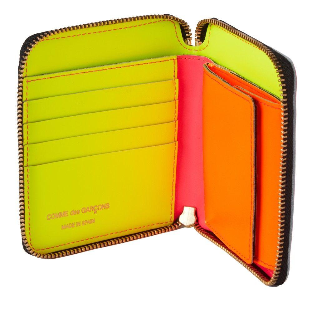 CDG Super Fluo Pink SASF My Style Pinboard Pinterest - Porte monnaie comme des garçons