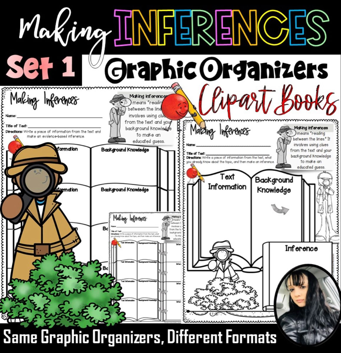 Making Inferences Graphic Organizers