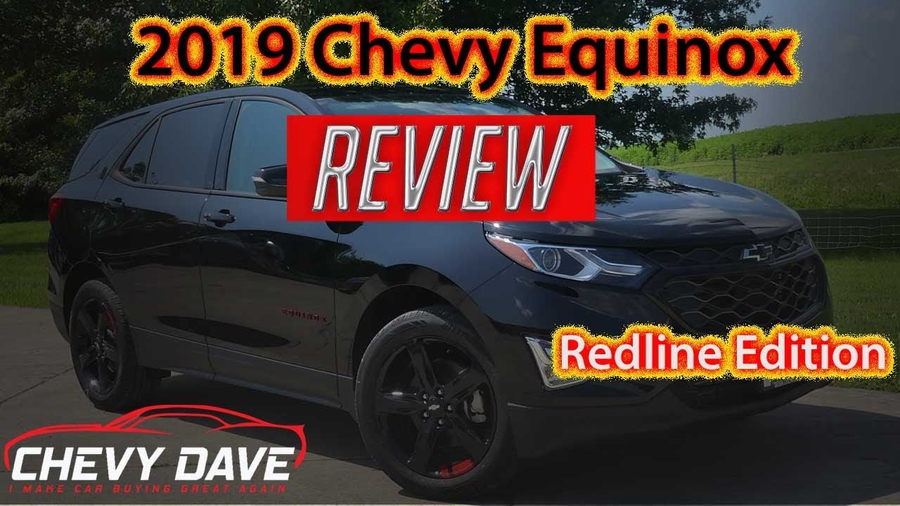 2019 Chevy Equinox Redline Edition Review Equinox Lt Model