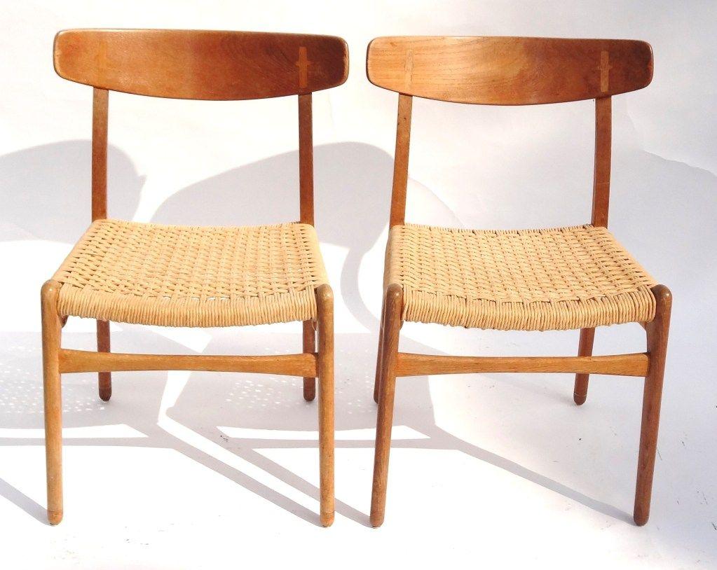 Los Angeles: Vintage 1950u0027s Hans Wegner CH23 Chairs $500    Http://furnishlyst