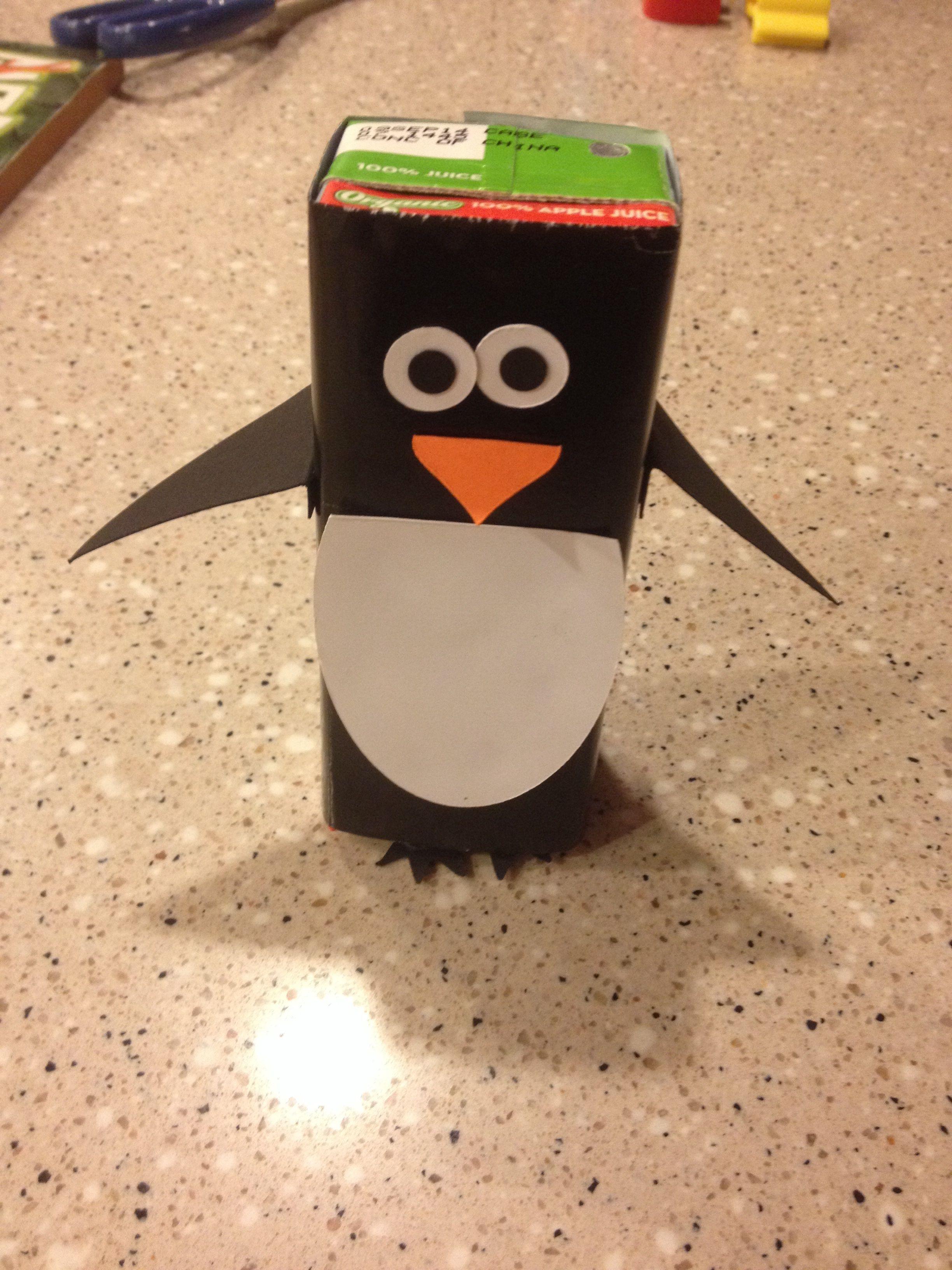 My Version Of The Penguin Juice Box
