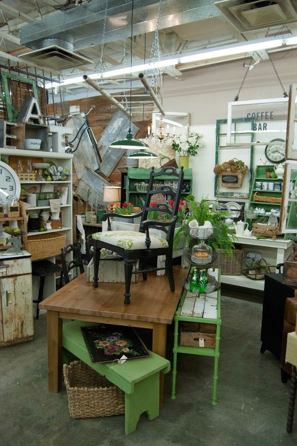 Flea Market Booth Store Pinterest Display Antique Booth
