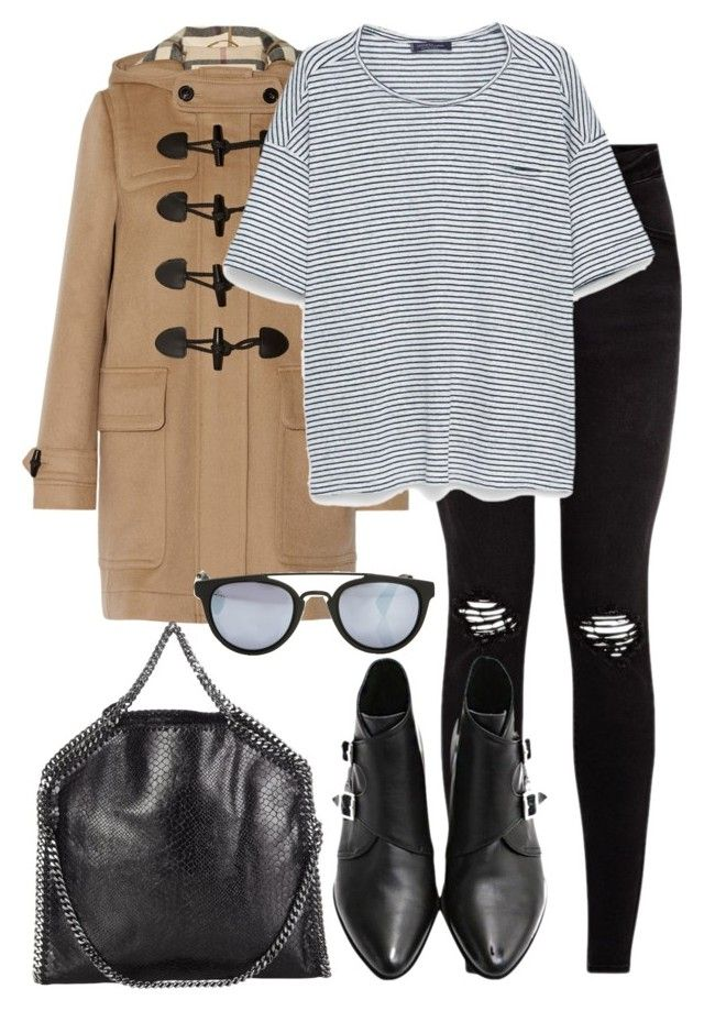 """""""Untitled #2216"""" by elenaday ❤ liked on Polyvore featuring Burberry, MANGO, STELLA McCARTNEY and Taylor Morris"""