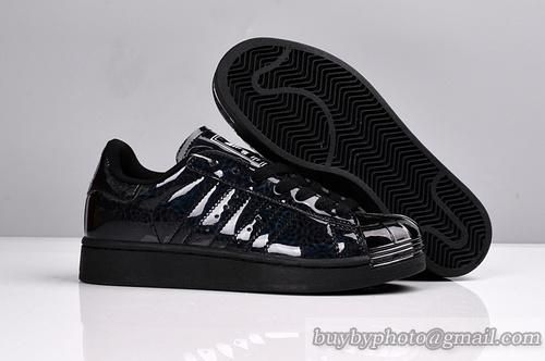 Uomini e donne adidas superstar 3d cromato nero cheapshoes