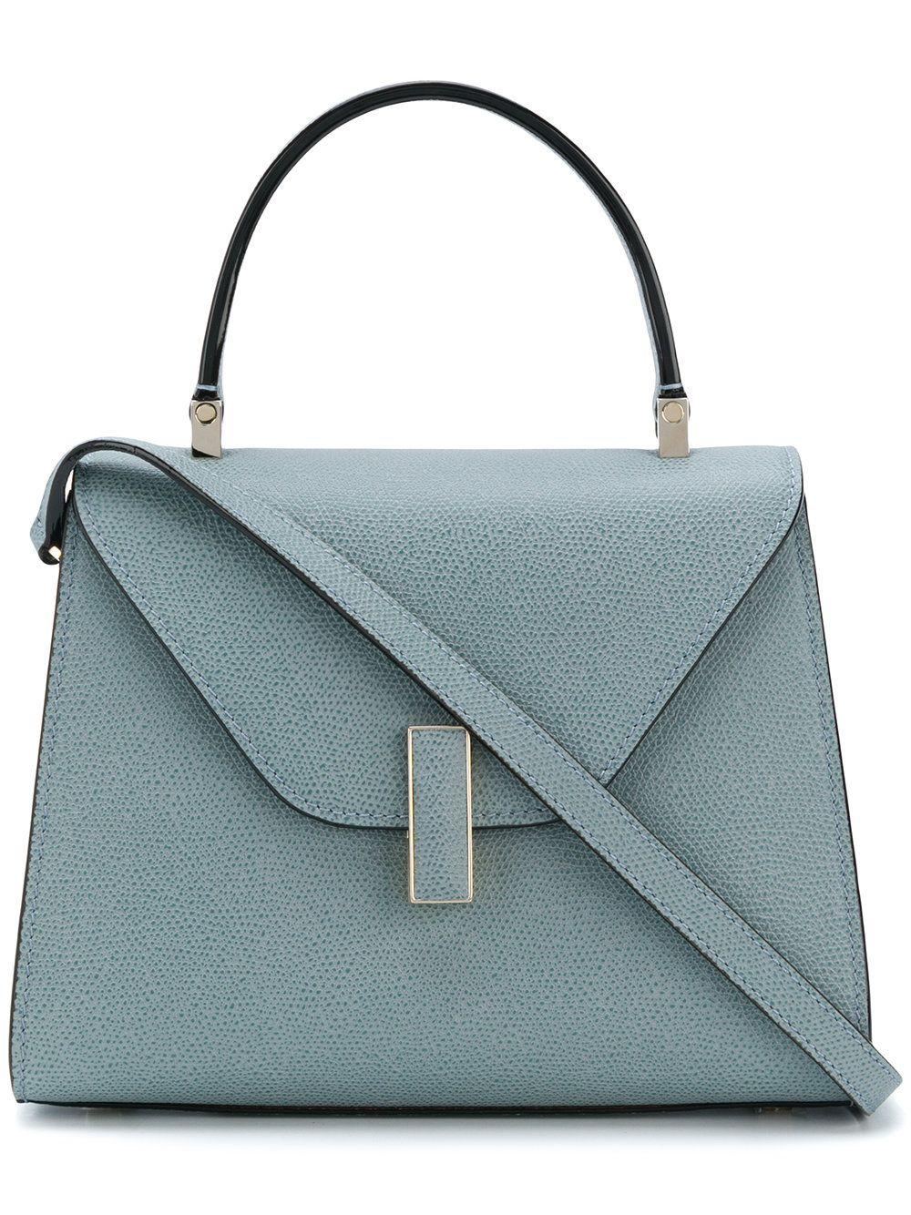 Valextra Shoulder Bag for Women On Sale, Black, Leather, 2017, one size