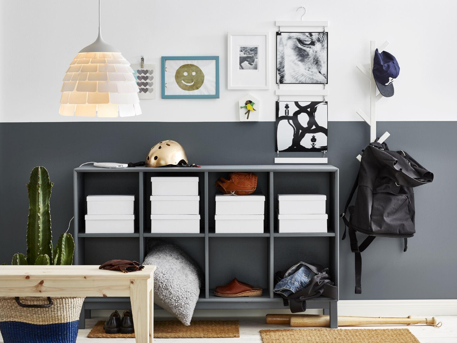 Ikea Billy Inspiratie : Scandinavian modern ikea ikeanl nornÄs buffetkast diy hal