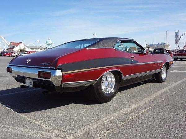 72 Gran Torino Sport Prostreet 429 C6 Vintage Muscle Cars