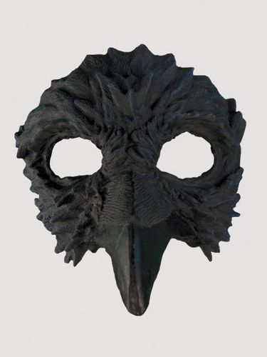 Adult Latex Raven Bird Half Mask Halloween Costume & Adult Latex Raven Bird Half Mask Halloween Costume   Pinterest ...