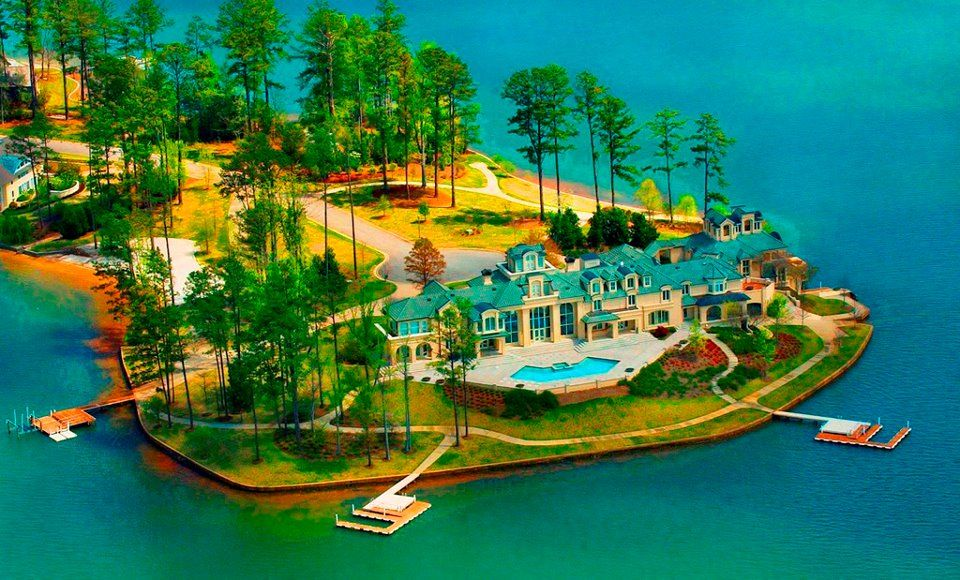 Richard Scrushy lake martin house
