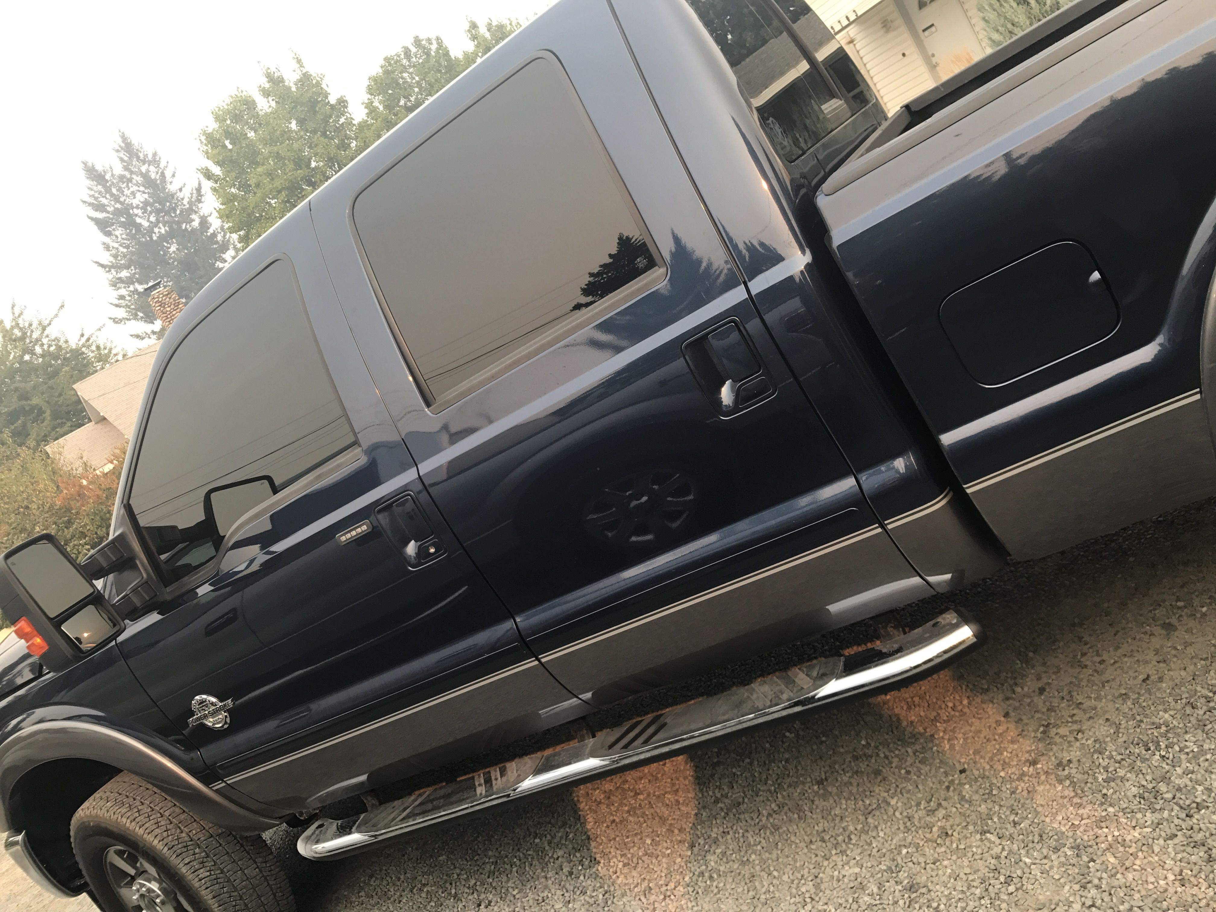 This truck is legit all set! Check it out! It's all tinted