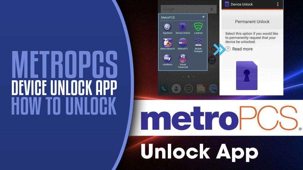 How To Unlock Metropcs Device Unlock App Unlock App Devices