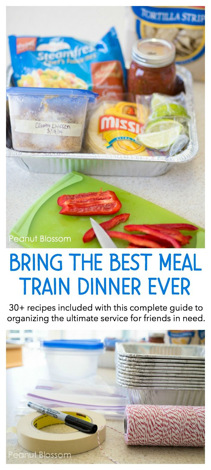 images How to Bring Food to a Friend in Need