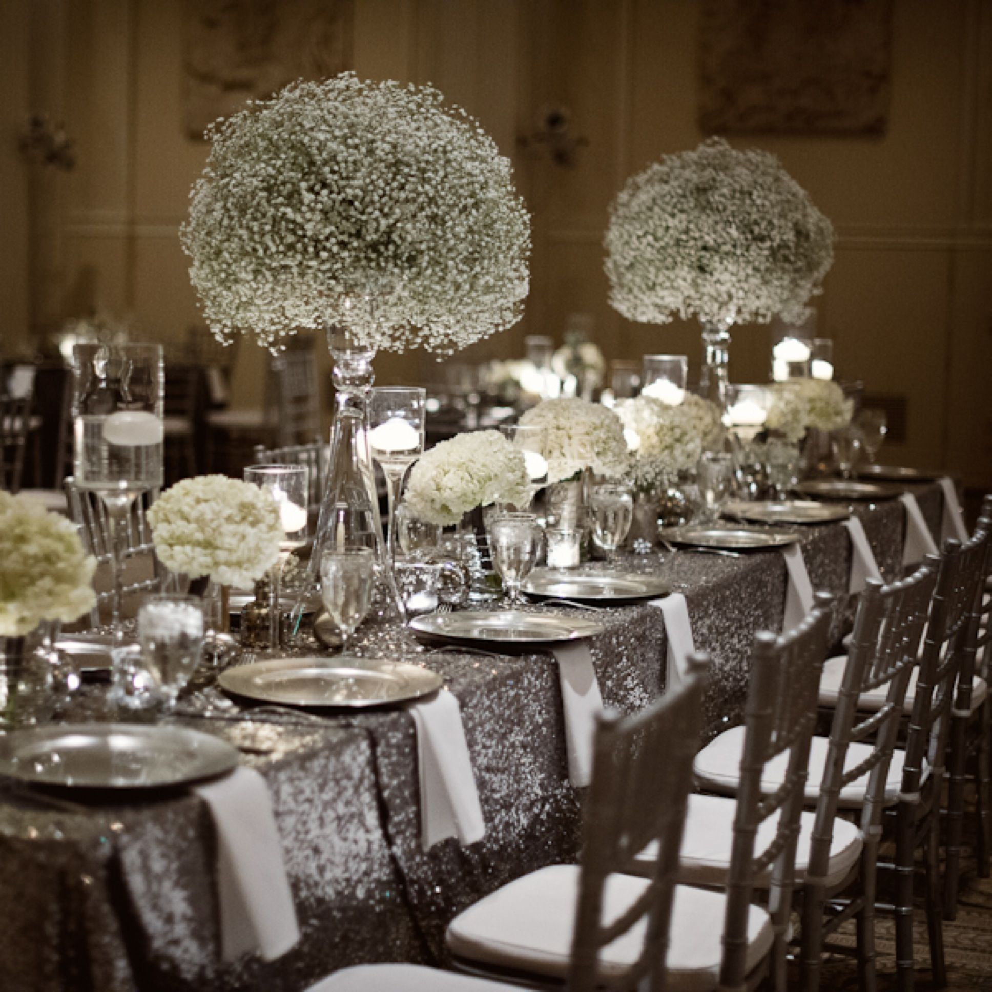 winter wedding sparkle - blog - zest floral and event design