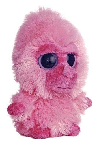 5 Quot Aurora Plush Yoohoo Amp Friends Pink Gorilla Monkey