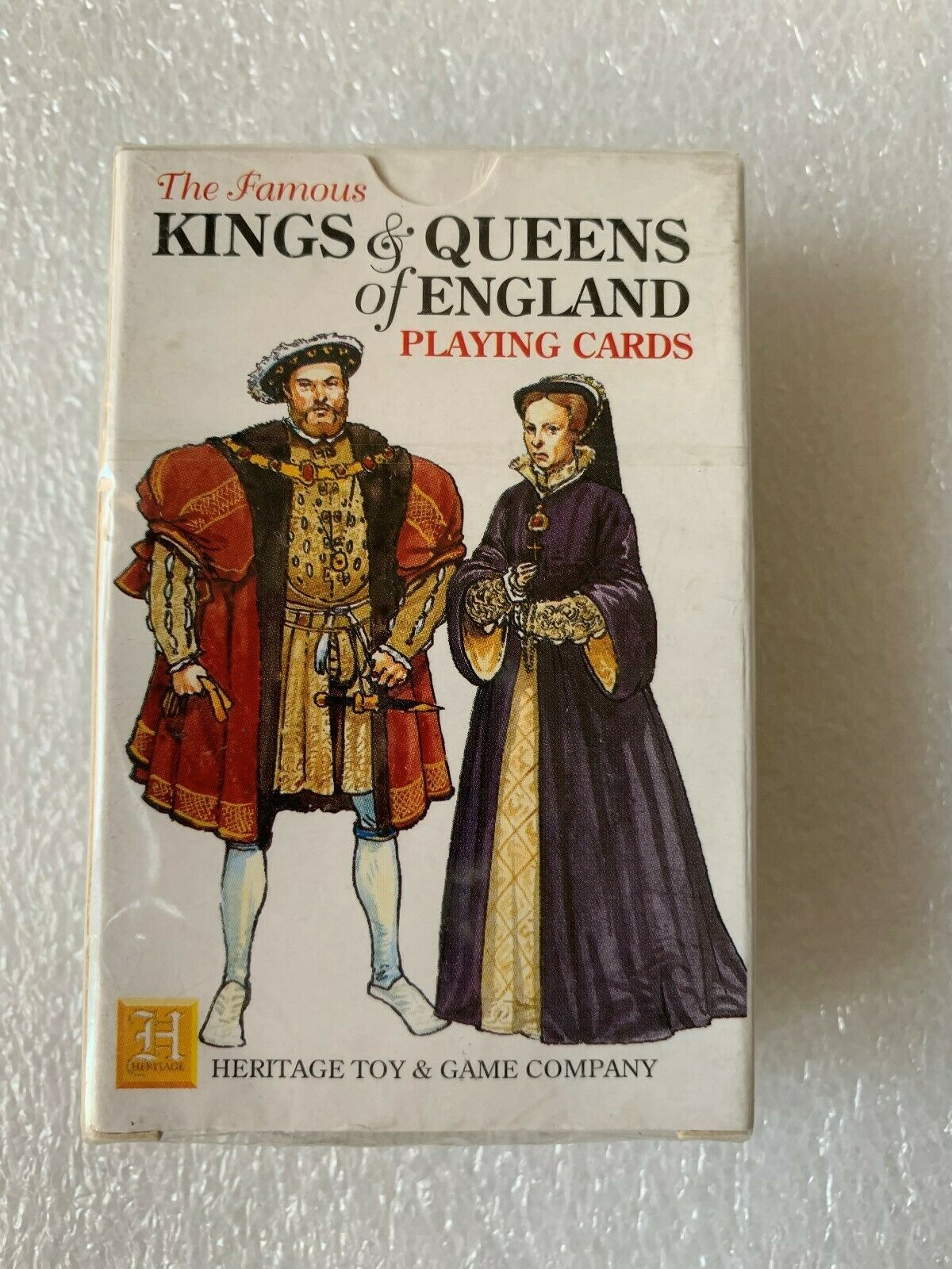 Kings And Queens Of England Playing Cards Unopened 1992 Heritage