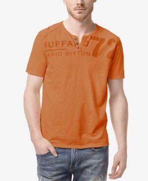 Buffalo David Bitton Men's Narwayne Henley T Shirt