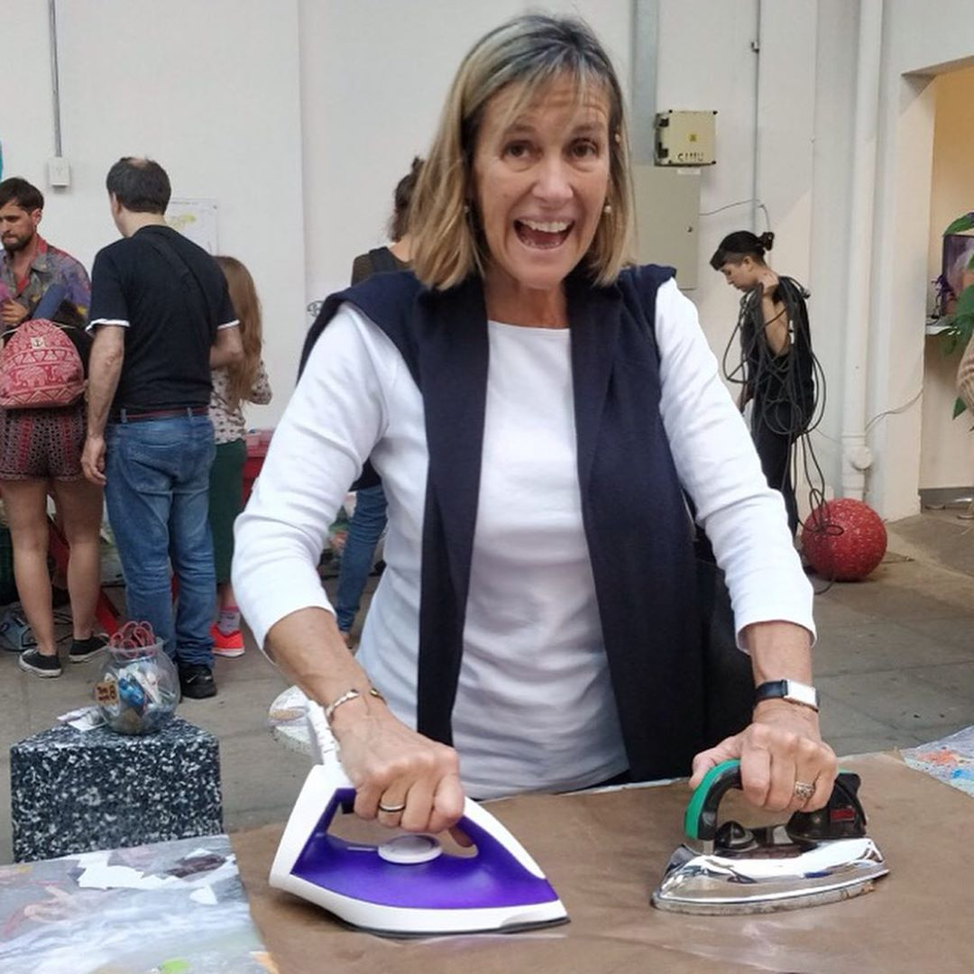 Experiencia Plasticando en el @elrecoleta durante el festival clave1317, septiembre-octubre 2018. 🌱Gracias a todxs lxs que participaron y colaboraron en la construcción de la obra