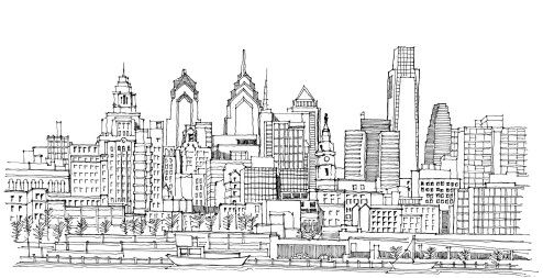 Philly City Drawing Tumblr Coloring Pages Coloring Pages