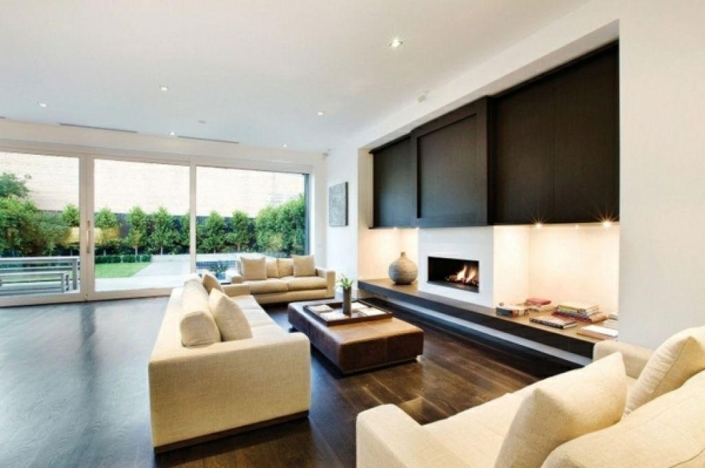 Immobilien moderne wohnzimmergestaltung architektenhaus for Architektenhaus modern