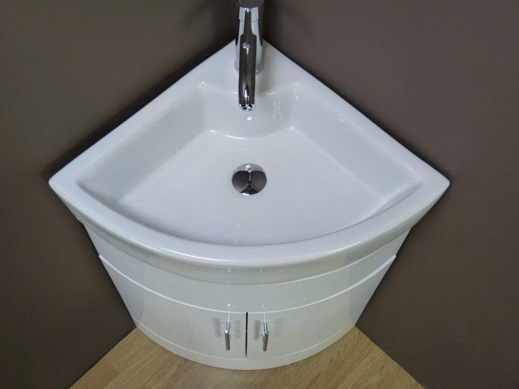 Eck Waschbecken Schranke Kleines Bad Waschbecken