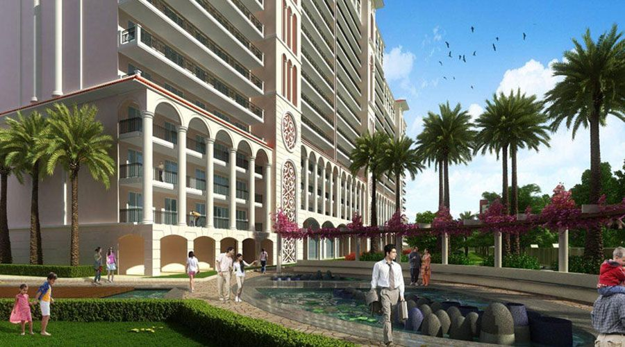 DLF Sky Court - DLF is coming with a new luxury residential project in sector 86, Gurgaon. DLF Sky Court offers 3 BHK air conditioned apartments in DLF Gardencity, New Gurgaon