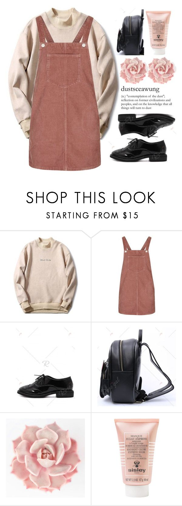 """""""#1939"""" by credendovides ❤ liked on Polyvore featuring Topshop, WALL and Sisley"""
