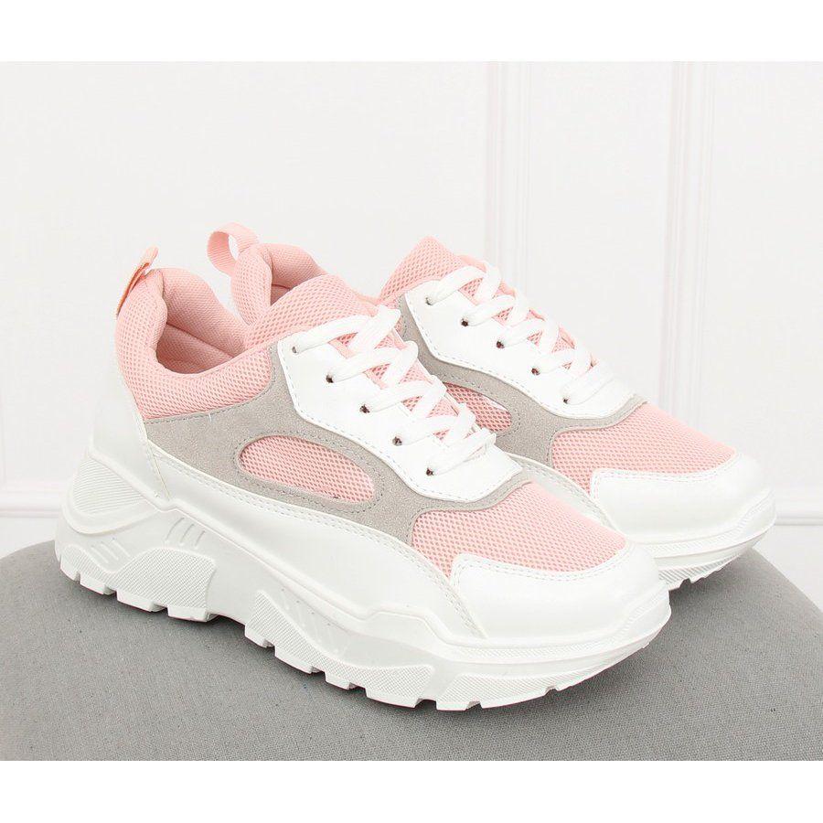 Buty Sportowe Bialo Rozowe Lv78p Pink Sneakers Nike Saucony Sneaker Nike Huarache