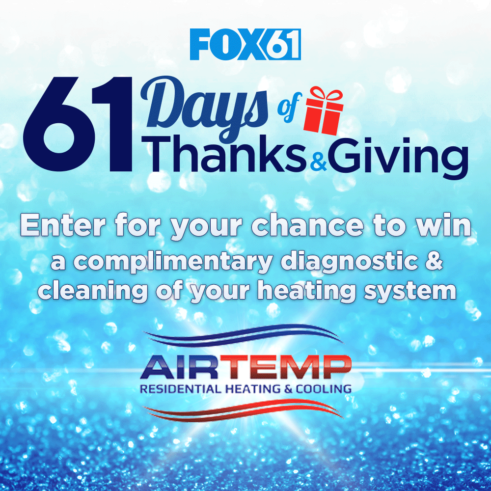 61 Days Of Thanks Giving Air Temp Contest Thankful Giving