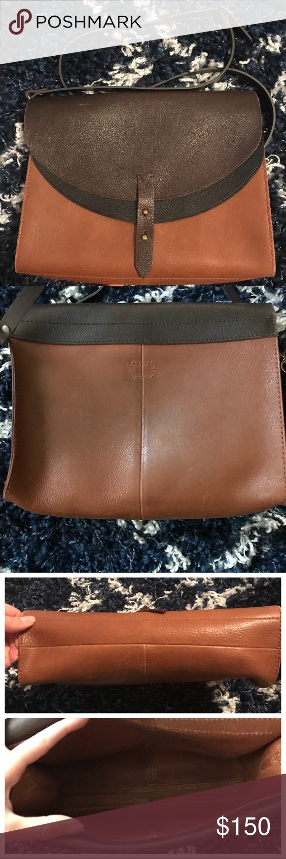 760bc92fc {Madewell} Essex Colorblock Crossbody Bag Rare Madewell favorite! The bag  is in really