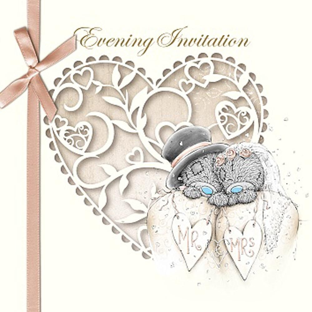 Me to You Bear Wedding Evening Invitation £2.99 | Teddy bears ...