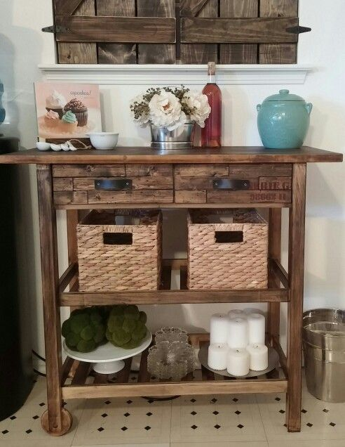 My Beautiful Ikea Forhoja Cart Hack New Drawer Faces With Leather