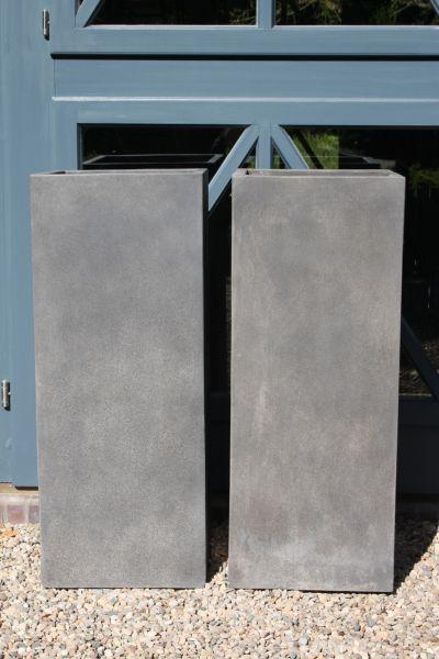 4er Set Pflanzkübel Blumenkübel Beton \