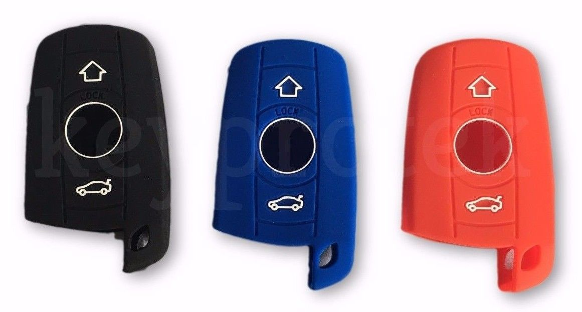 Bmw Protective Silicone Rubber Key Fob Cover Remote Jacket M5 M6