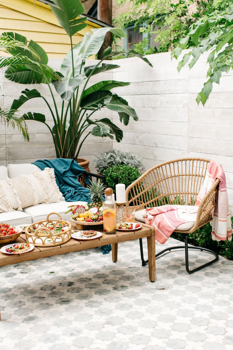 How We Decorated Our New Patio Using All Pieces from ... on Target Outdoor Living id=26856