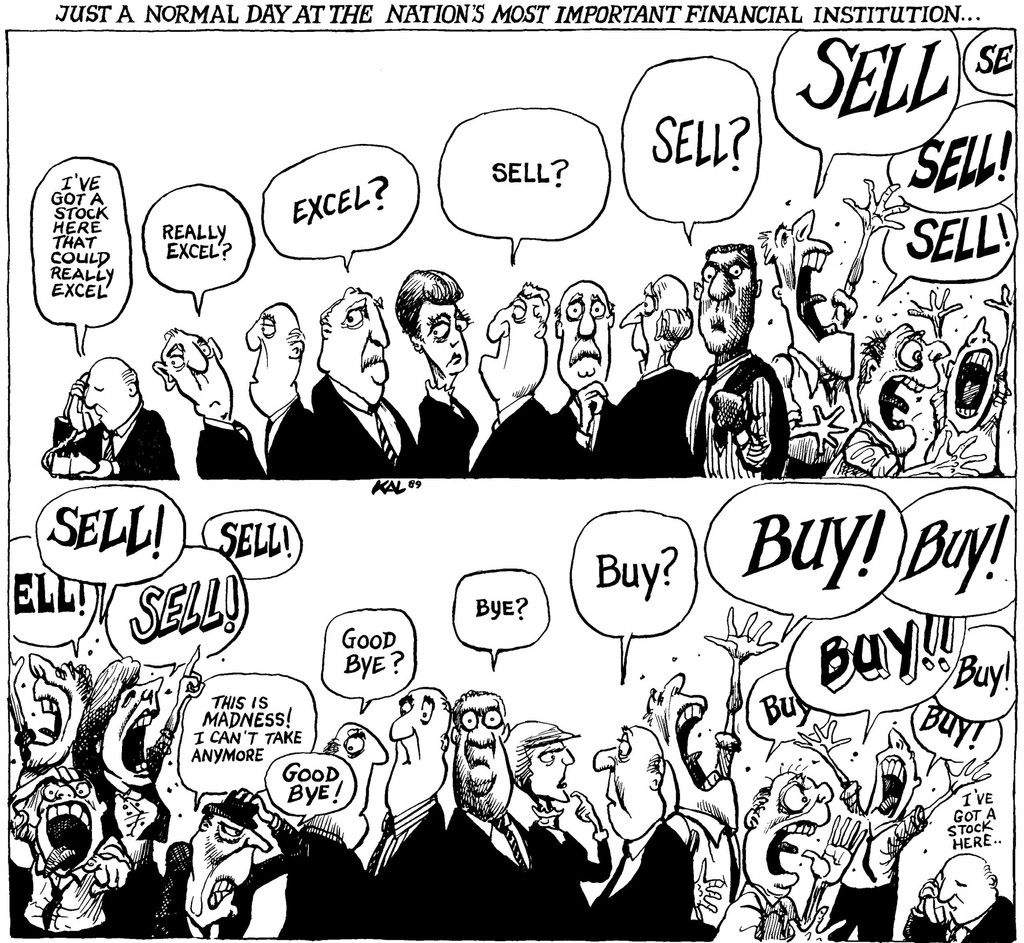 Buy Buy Sell Sell Signed Kal Print Financial
