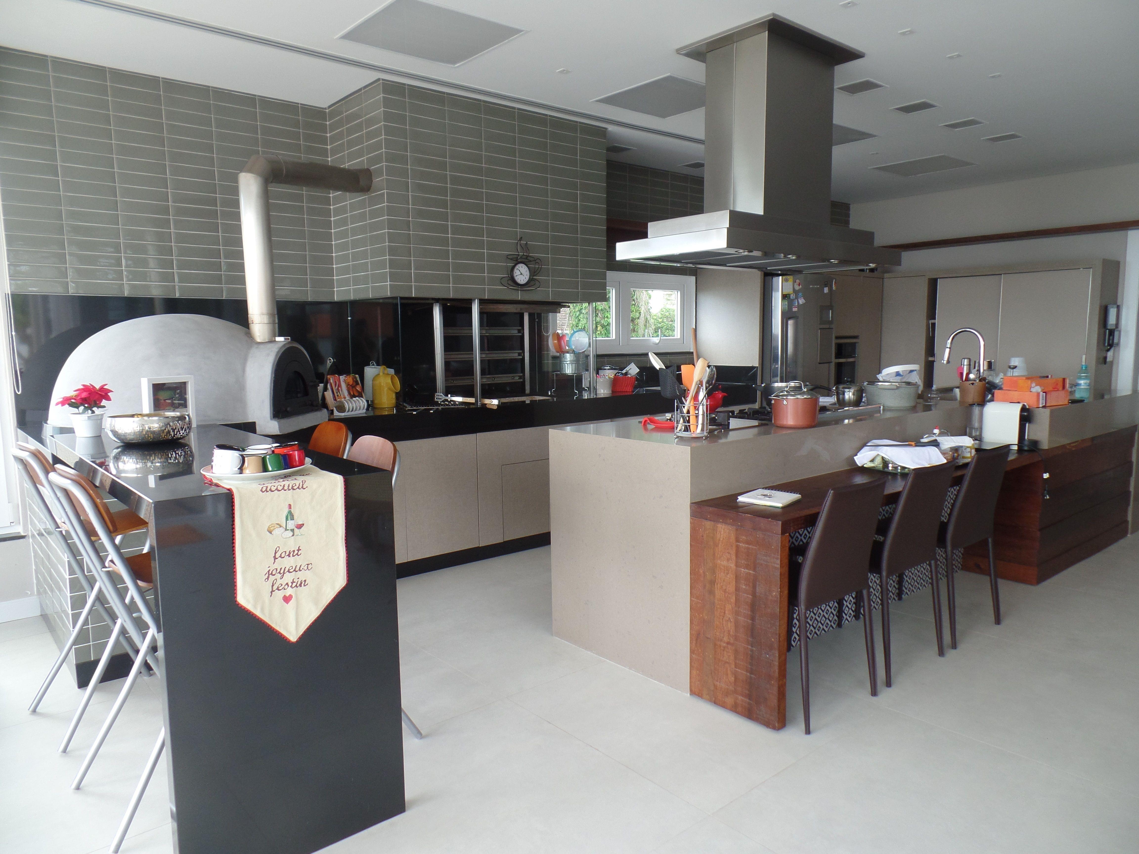 Bancada De Cozinha Em Granito Preto S O Gabriel E Caesarstone  ~ Bancada Cozinha Granito Preto