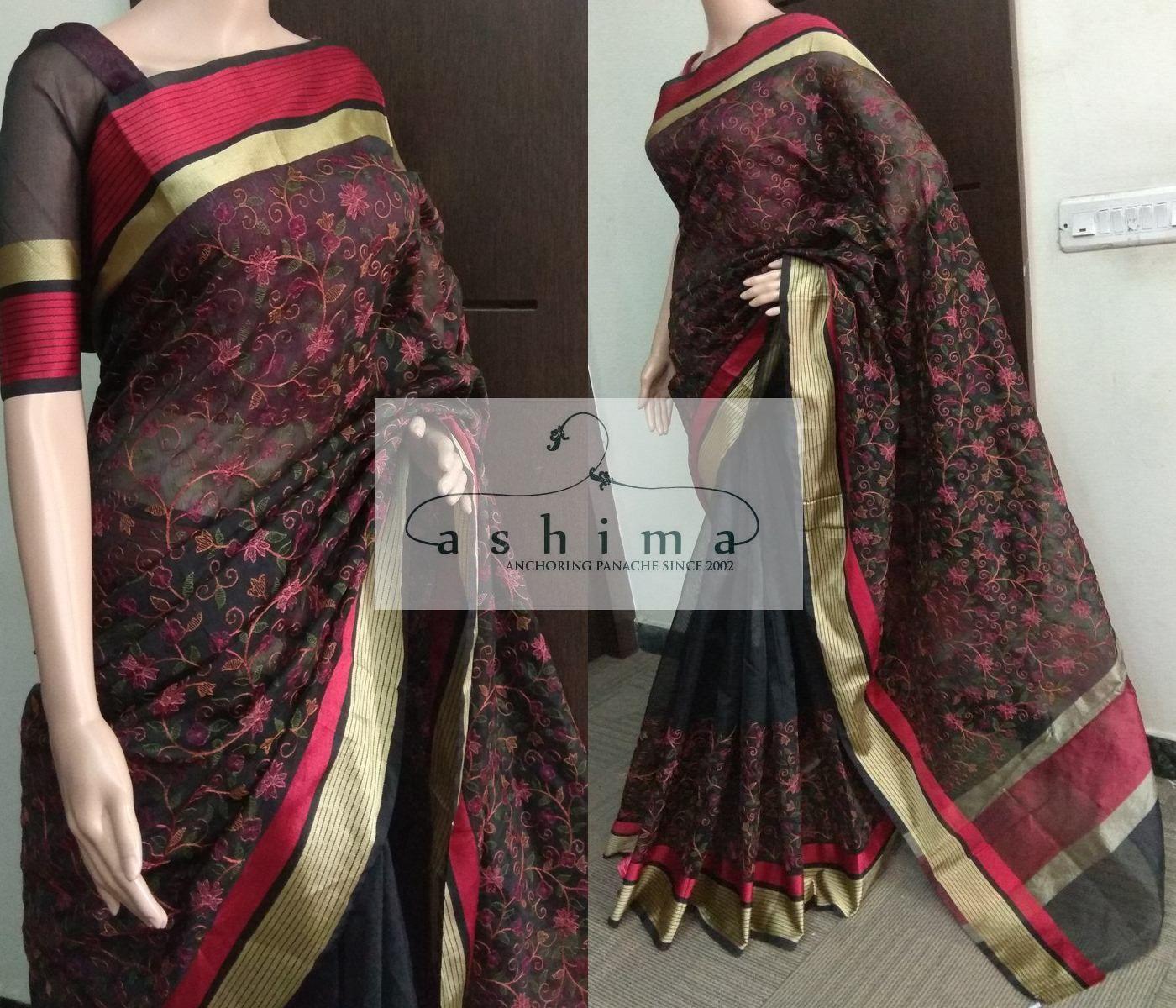 Images of saree code  price inr  embroidered kota saree  sarees