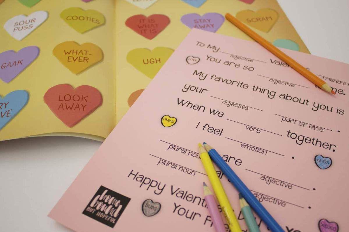 Where S The Love A Mad Lib Valentine