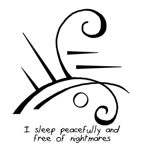 Sigil Athenaeum I Sleep Peacefully And Free Of Nightmares Sigil