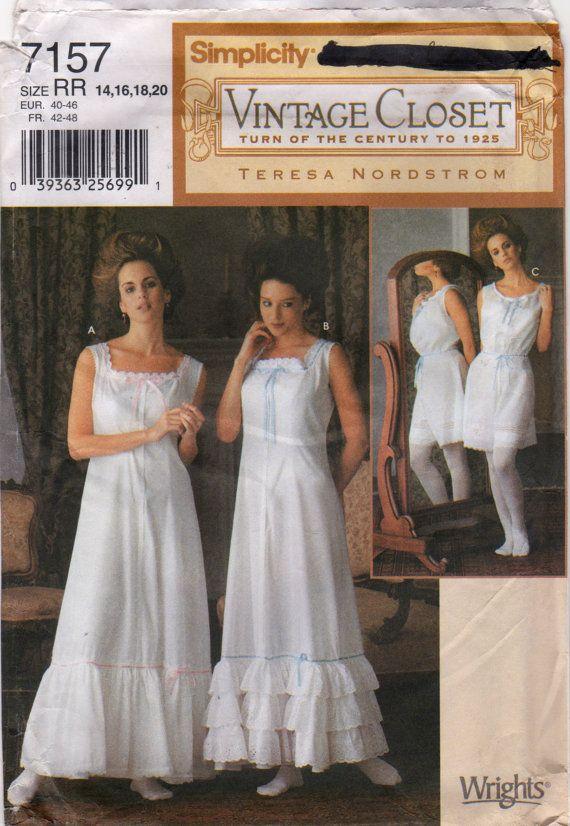 "VTG 16-18/""ANTIQUE LADY DOLL DRESS PATTERN @ MID 1800/'S"