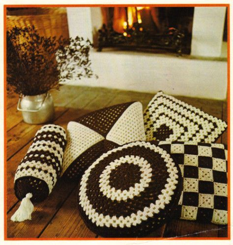 Crochet cushion ideas