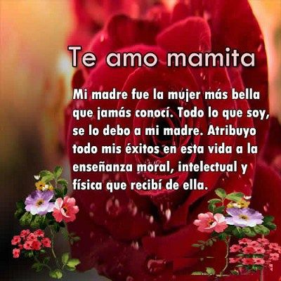 Frases De Amor Para Madres Para Ti Sarahi Herrera Pinterest