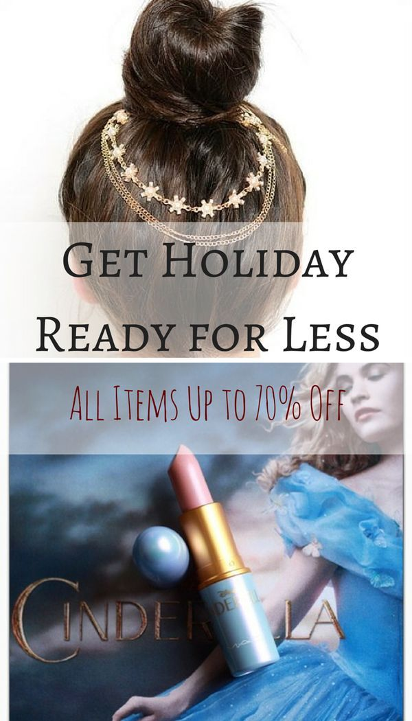 Want to look on point this holiday season, but on a budget? Shop your favorite brands, like Urban Decay, MAC, Bobbi Brown, and more, at up to 70% off retail. Click the image above to install the FREE Poshmark app and get these exclusive deals.