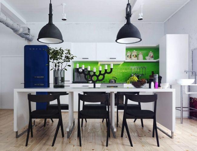 farben im interieur geschickt eisetzen 3d visualisierung, lebhafte farben im interieur geschickt einsetzen – 3d, Design ideen