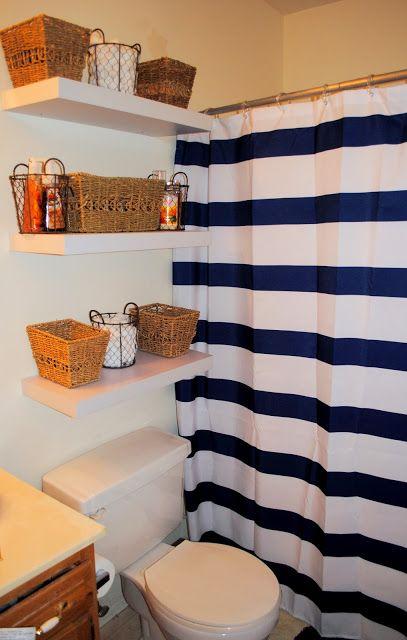 College apartment bathroom