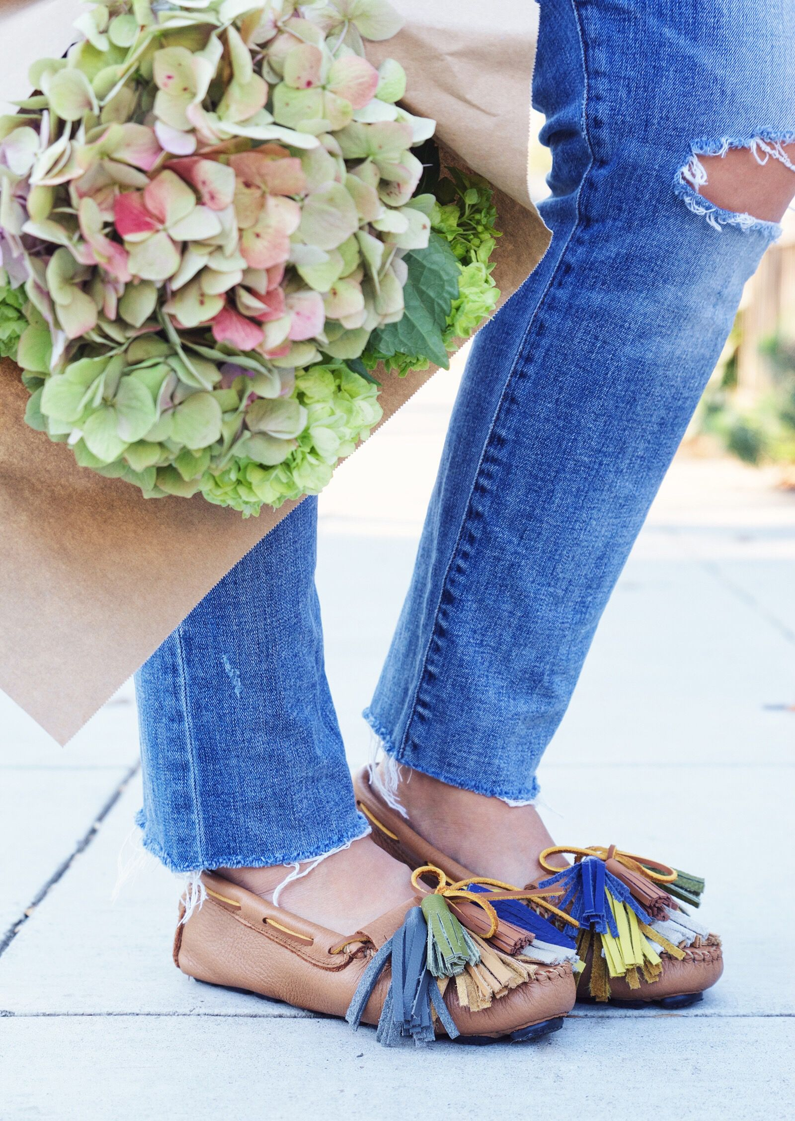 diy tassel moccasins | them, 39;? and 39;re