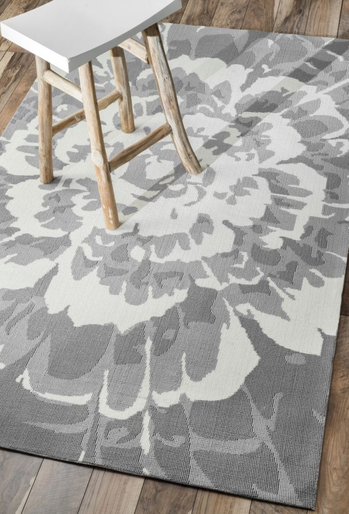 terrace ve15 grey rug | outdoor rugs for under the kitchen