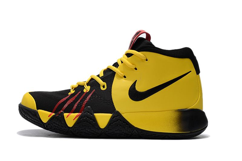"adc5db7e34ab 2018 Nike Kyrie 4 ""Bruce Lee"" Tour Yellow Black For Sale"