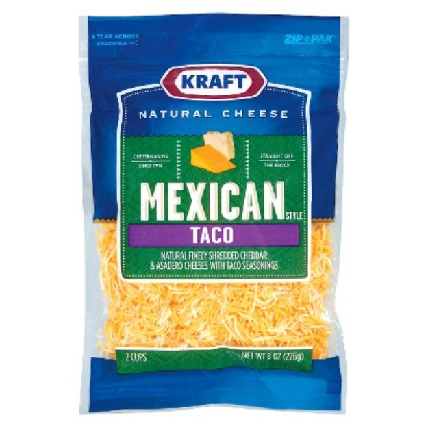 I M Learning All About Kraft Foods Natural Shredded Cheese Mexican Taco At Influenster Mozzarella Kraft Recipes Natural Cheese