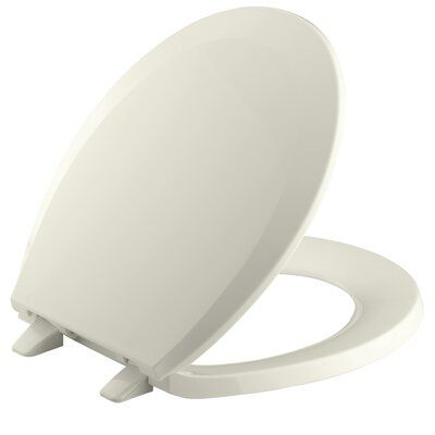 Kohler Lustra With Quick Release Hinges Round Front Toilet Seat
